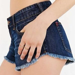 New BDG Lowrise Dolphin Cutoff Jean Shorts